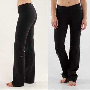 Lululemon Astro Pant Leggings Black 6 Tall